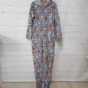 Other - Men's Christmas Hooded Footie Pajamas Sz M
